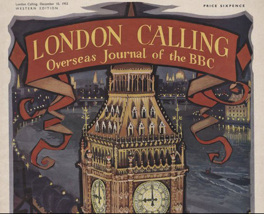 December 1953 Issue of London Calling, the  Journal of the BBC Empire Service